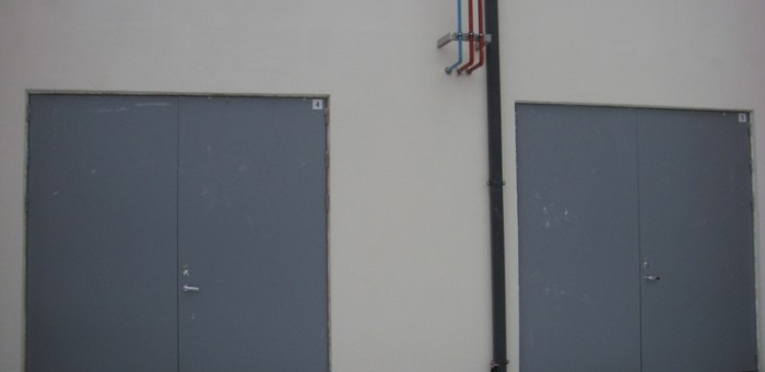 Ugunsdroši metāla vārti un durvis